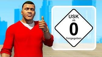 Die KINDERFREUNDLICHE Version von GTA 5 spielen!