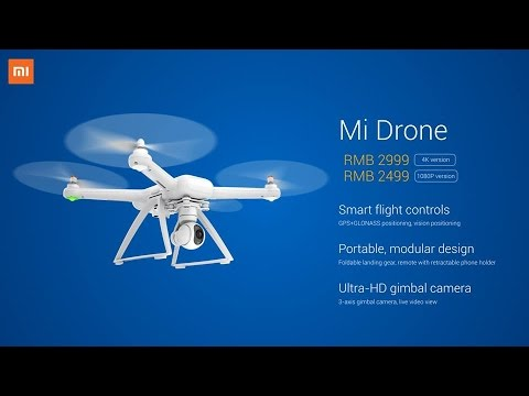 Unbox Mi Drone l Flycam Xiaomi - Hugo Barra