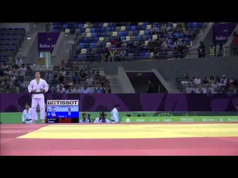 Georgia vs Czech Republic European judo teams championships - Baku 2015