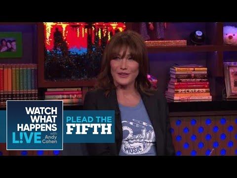 Carla Bruni On President Donald Trump | Plead The Fifth | WWHL