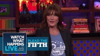Carla Bruni On President Donald Trump | Plead The Fifth | WWHL