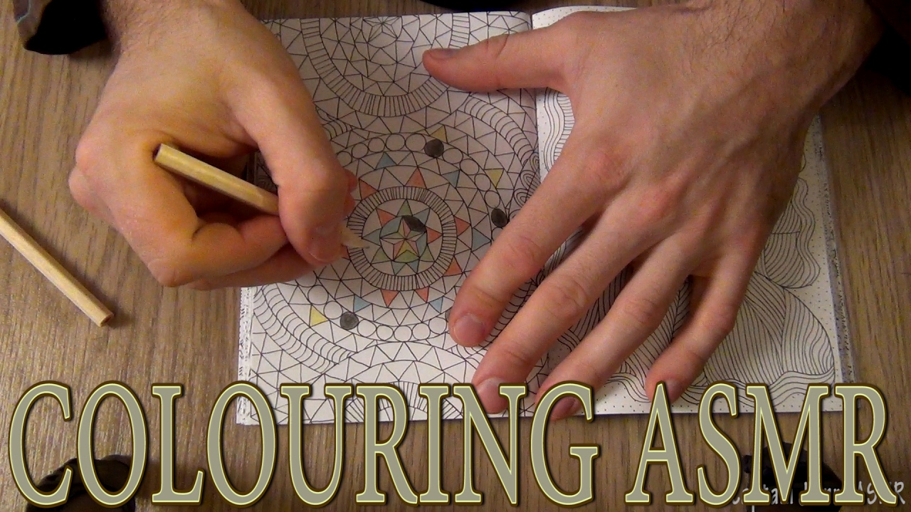 ASMR Anti Stress Art Therapy The Mindfulness Colouring Book