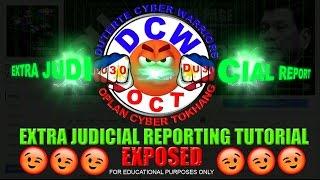 dcw oplan cyber tokhang ejr tutorial mr riyoh