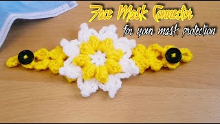 Face Mask Adopter Crochet Ear Saver Extender Subtitles Available Hindi Urdu DollyCraft