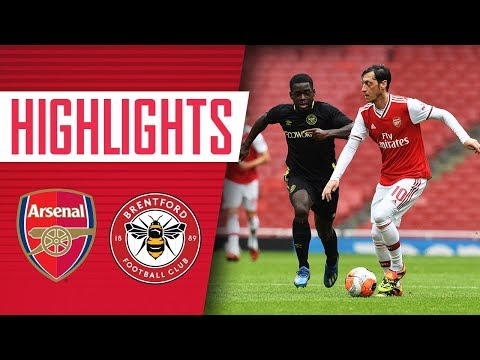 HIGHLIGHTS | Arsenal 2-3 Brentford | Friendly match