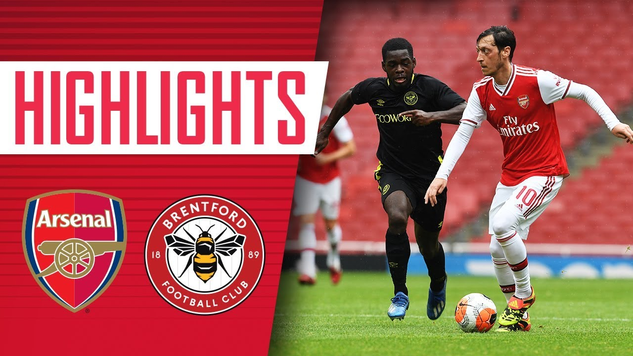 HIGHLIGHTS | Arsenal 2-3 Brentford | Friendly match
