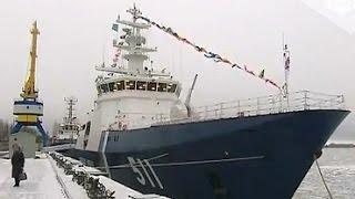 Пограничная служба ФСБ получила корабль «Полярная звезда»