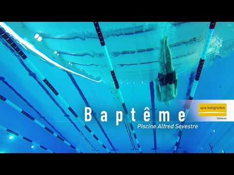 Baptême - Issy-les-Moulineaux - Piscine Alfred Sevestre