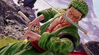 JUMP FORCE - Gameplay Sasuke Vs. Zoro Fight (E3 2018)
