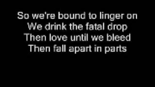 Andreas Kleerup Until We Bleed Feat Lykke Li (Lyrics)