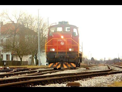 Railways in Croatia, February 2017