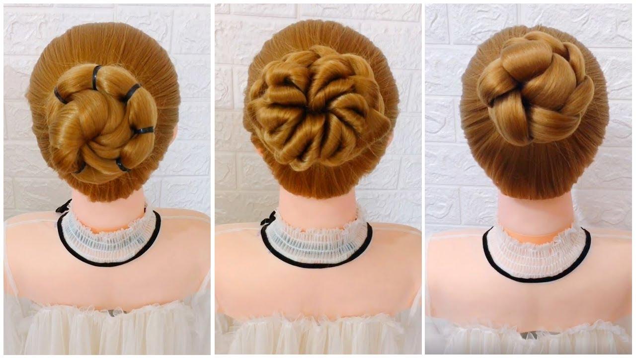 Hướng Dẫn 25 Cách Búi Tóc Bà Sui Đơn Giản | Easy Bun Hairstyles For Long Hair For Wedding | Tổng quát các tài liệu về cách buối tóc đẹp chuẩn nhất