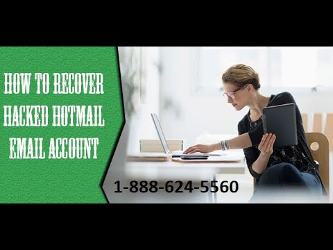 Hotmail Account Recovery (1-866-951-0549) Recover Hacked Hotmail Account