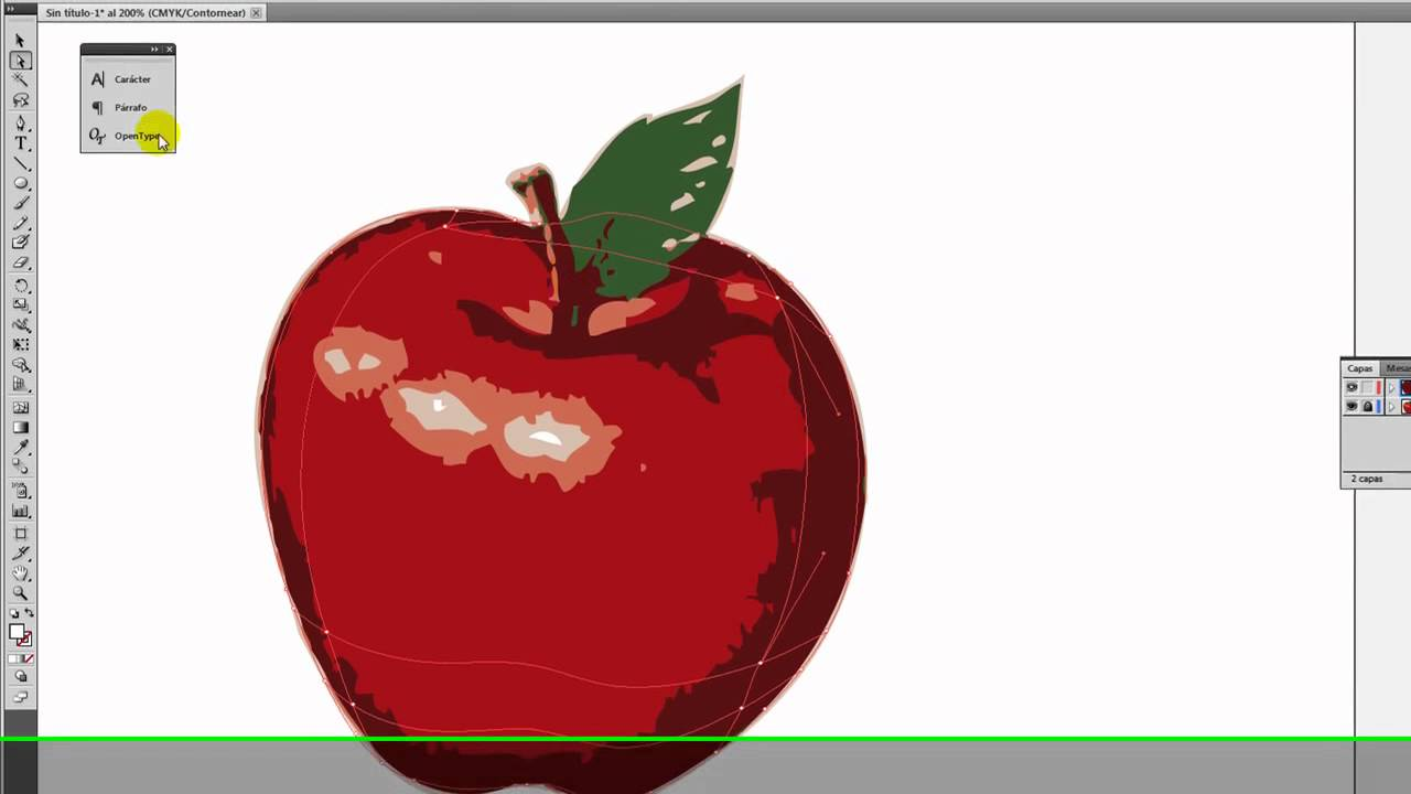 Tutorial Adobe Illustrator  Dibujo desde Una Fotografia  YouTube
