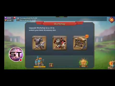 Chest Opening Trap - Working On Familiars - Lords Mobile
