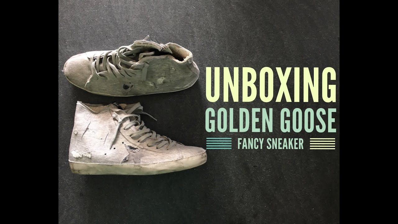 Golden Goose Deluxe Brand Francy Sneaker | UNBOXING | high Fashion shoes | HD