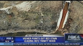 Investigation   Pollution site on the Trinity River in Fort Worth