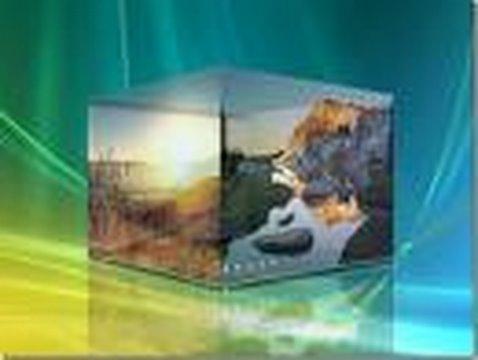 3D Cube Desktop Effects for Windows