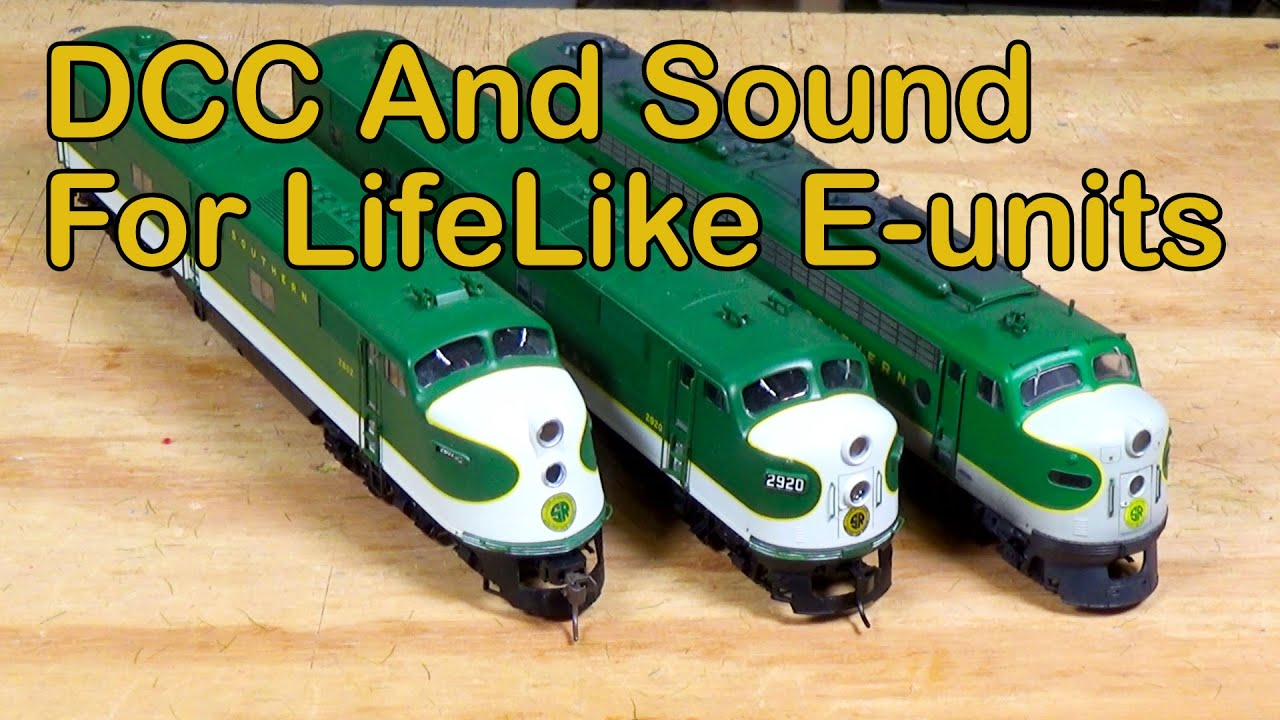 184. DCC and Sound For Your LifeLike E-units