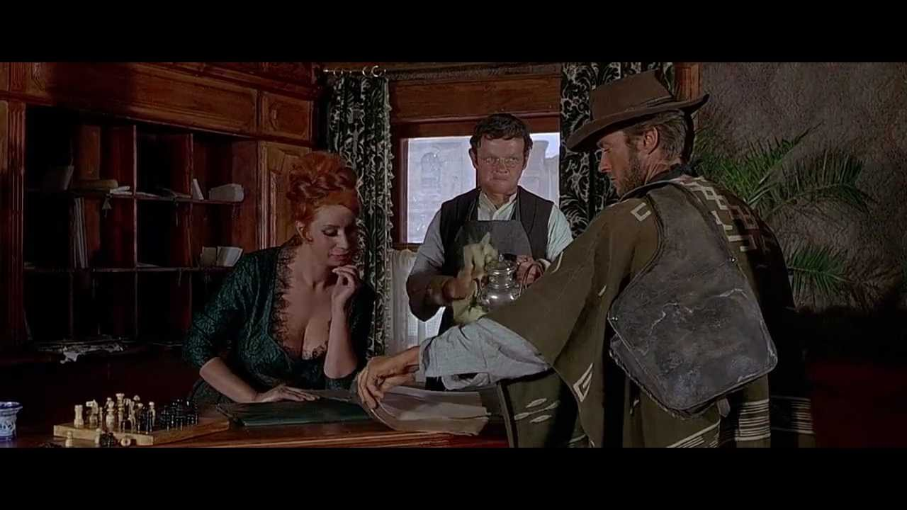 The room's occupied' - For a Few Dollars More (1965) - YouTube