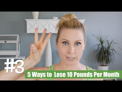 5 Simple Ways To Lose 10 Pounds Per Month   skip2mylou
