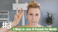 5 Simple Ways To Lose 10 Pounds Per Month | skip2mylou