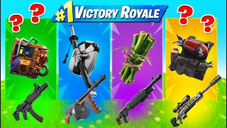 The *NEW* RANDOM BACK BLING CHALLENGE in Fortnite Chapter 2 (WITH FISHSTICK)