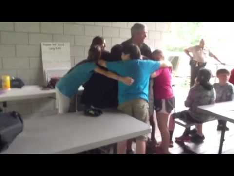 Sheriff Mike Hale visits Prepared, Not Scared Camp - YouTube