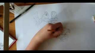 How to Draw Simons Cat with a Owl by Leon