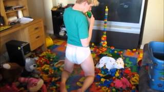 Diaper Change for an Adult Baby!!!