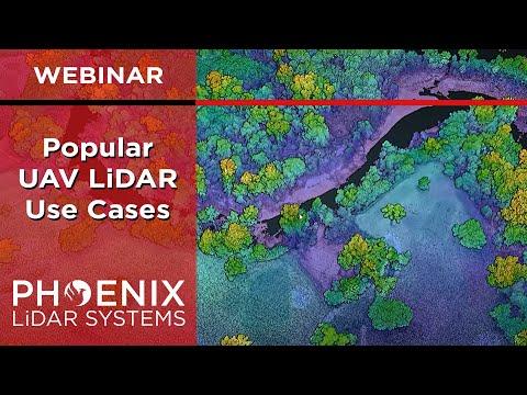Webinar: Popular UAV LiDAR Use Cases