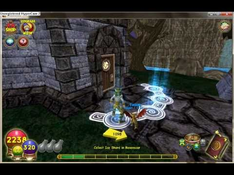 Wizard101 Solo: Haunted cave boss!!