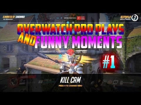 Overwatch Pro Plays And Funny Moments #1