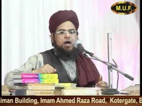 Maulana Yusuf Raza Qadri (12- zalzala )wahabi Deobandi kiya hai ? By mufindia
