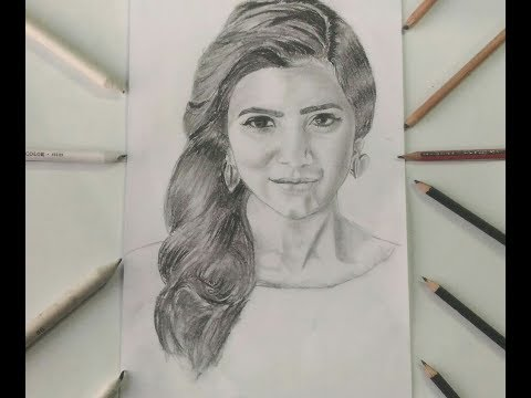 Drawing Samantha Ruth Prabhu ||CELEBRITY SKETCHES||