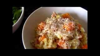 Bacon And Butternut Squash Risotto