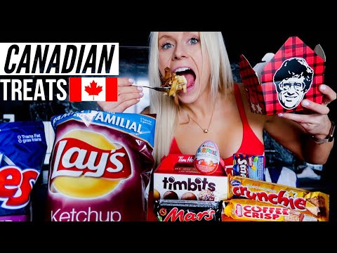 Canadian Shows You Most ICONIC CANADIAN FOOD | Donuts, Ketchup Chips, Poutine, And MORE