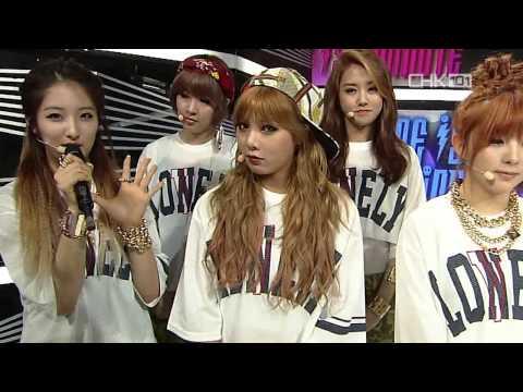 [HD] 130428 4Minute - Interview @ SBS Inkigayo