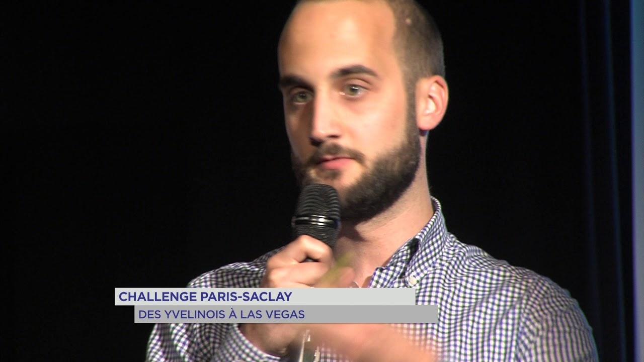 Challenge Paris-Saclay : des Yvelines à Las Vegas