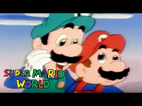 Super Mario World | ROCK TV | Super Mario Brothers | Cartoons For Kids