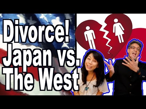 Divorce: Japan vs. West