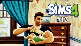 Суровые будни молодого отца ☀ The Sims 4 Прохождение #13 / Видео