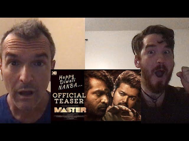 Master Teaser REACTION!! | Thalapathy Vijay | Vijay Sethupathi | Lokesh Kanagaraj