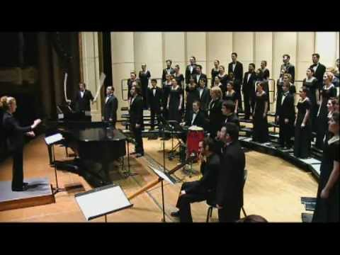 Honour the Earth by Sarah Hopkins : ACDA Feb 2012, USA ~ Choir & accomp