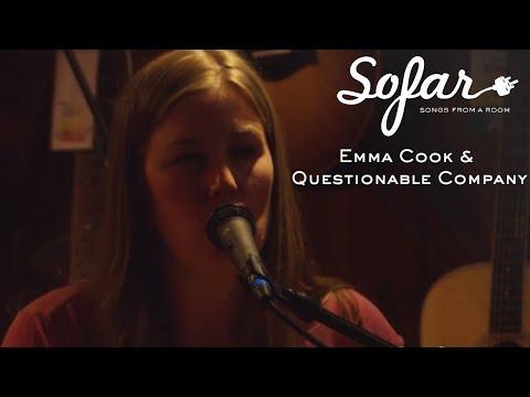 Emma Cook & Questionable Company  You Know Why  Sofar Burlington, VT