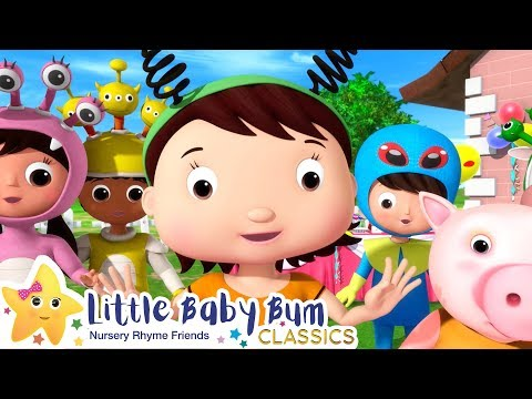 Halloween Party Song!   Halloween   Nursery Rhymes & Kids Songs - ABCs and 123s   Little Baby Bum