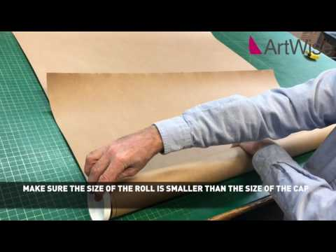 How To Pack A Poster In A Tube