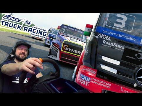 Симулятор для настоящих мужиков - FIA European Truck Racing Championship
