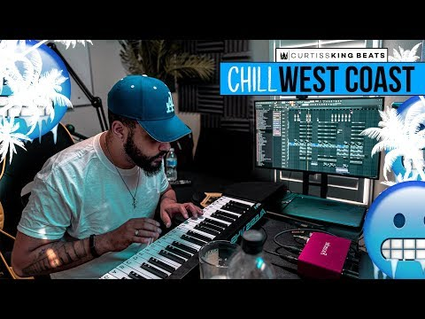 Curtiss King Making A CHILL G-FUNK WEST COAST Beat From Scratch On FL Studio 20 |