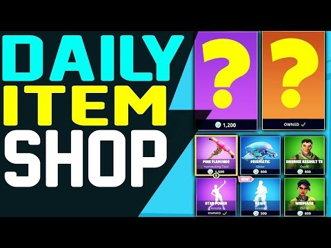 Fortnite Daily Item Shop August 7 NEW ITEMS & FEATURE SKIN Rabbit Raider And Sleuth Outfit